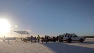 DLRA Speed Week Starting Line at Lake Gairdner