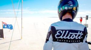 Elliott Motorcycles Land Speed Racing Start Line Australia